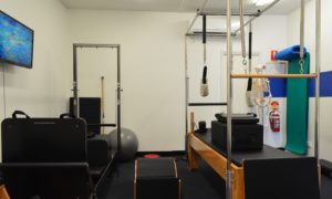 Pilates reformer at My Physio